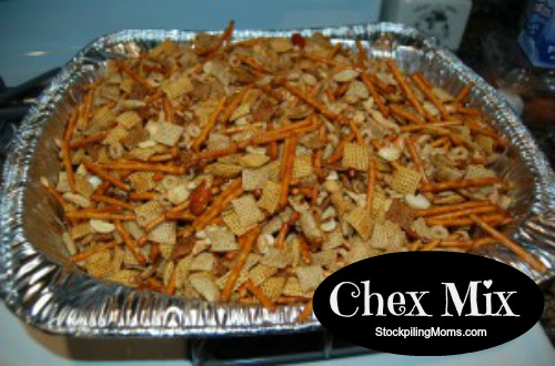 This is the best recipe for Chex Mix ever! I am sharing my Moms secret recipe!