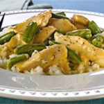 chicken and greenbean