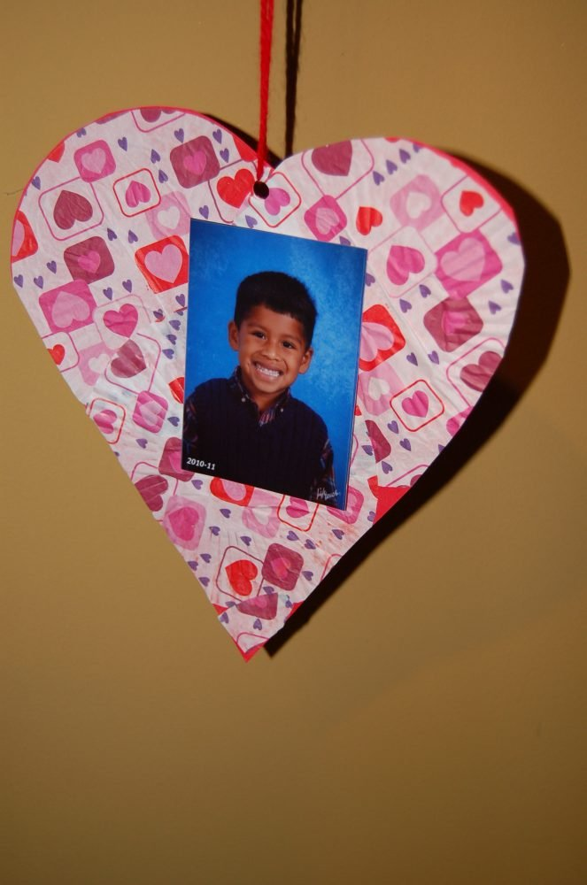 Valentine S Day Photo Craft Project