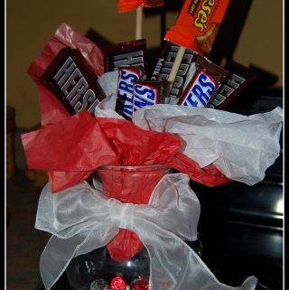 How to Make a Candy Vase