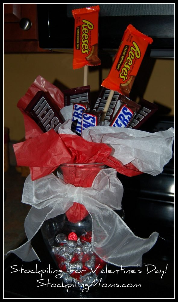 How To Make A Candy Vase Valentines Day Gift Idea