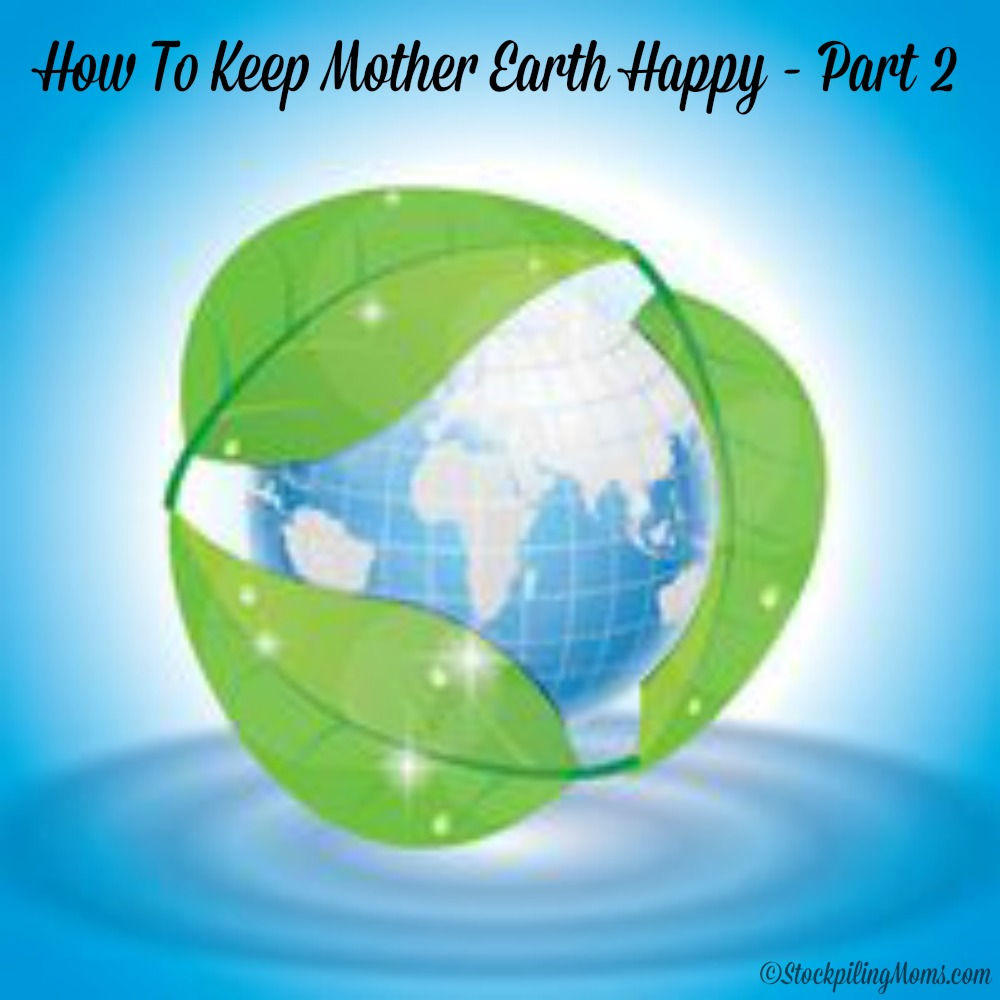How To Keep Mother Earth Happy - Part 2
