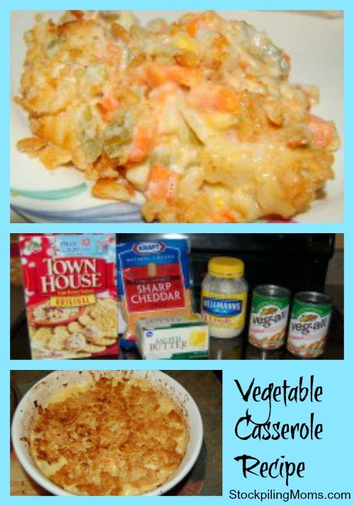 Vegetable Casserole Recipe - So Easy To Make and Everyone Will Love It!