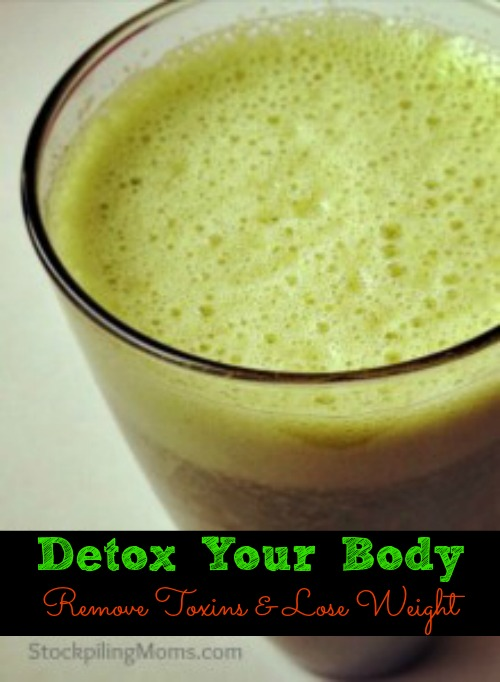 detox your body remove toxins and lose weight