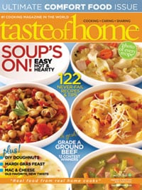 Today Only! Taste of Home Magazine for Only $3.99 per Year!