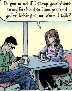 No cell phones on Date Night!