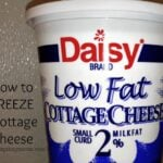 Can you freeze cottage cheese