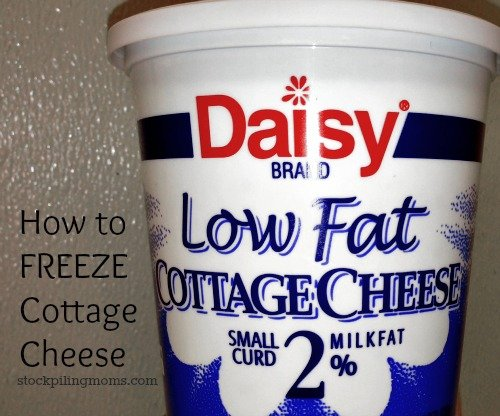 Can you freeze cottage cheese? Yes you can! Click here to find out how!