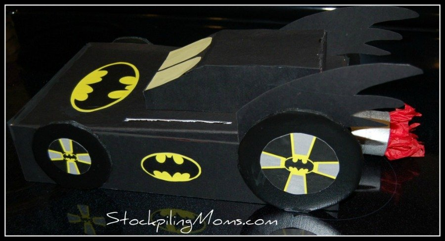 How to make a Batman Valentine Box