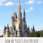 How we paid cash for our Disney World Vacation
