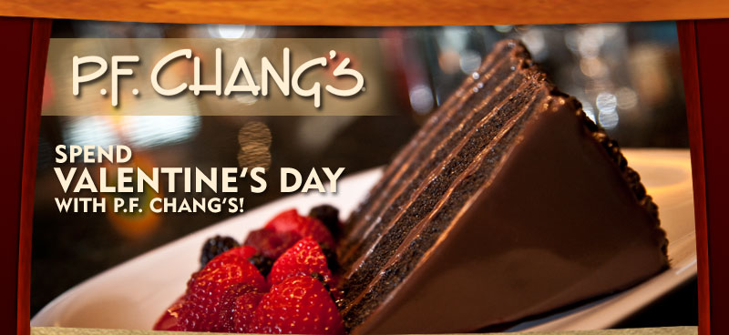 Pf changs valentines day menu