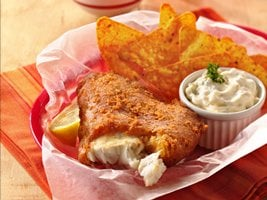 Southwestern Beer Batter Fish