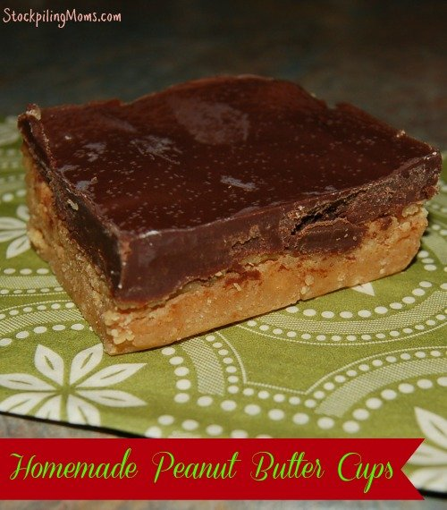homemadepeanutbuttercups