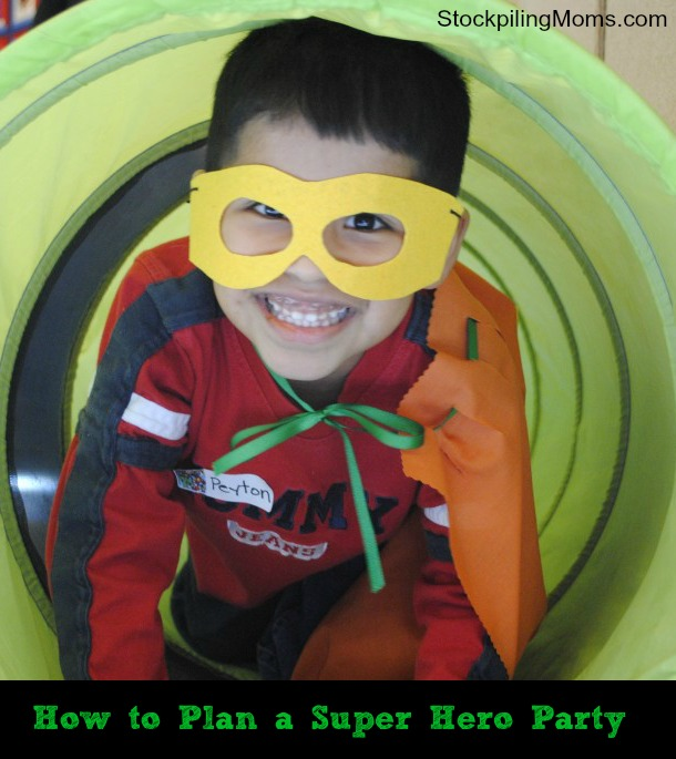How to Plan a Super Hero Party