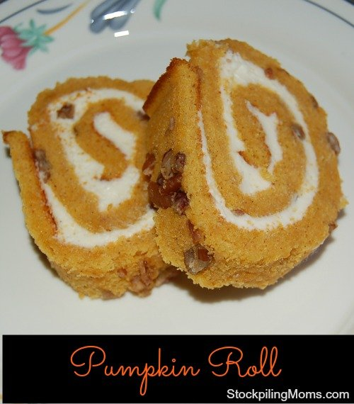 There is nothing better than a Pumpkin Roll on Thanksgiving Day! This is one of my favorite treats to enjoy during the holidays.