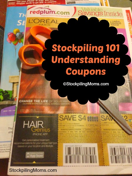 Stockpiling 101 - Understanding Coupons