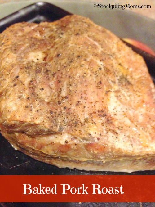 I love this easy Baked Pork Roast recipe. This is one of my go to recipes.