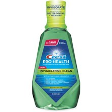 Crest Pro-Health Invigorating Clean Multi-Protection Rinse Test Drive