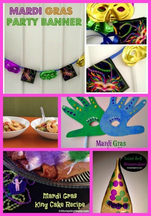 Mardi Gras Party Ideas that will help you when planning your Fat Tuesday Celebration!