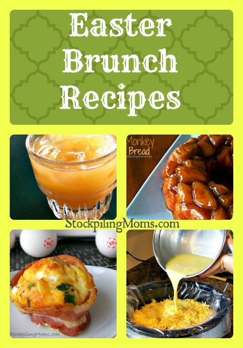 Enjoy these Easter Brunch Recipes that are sure to make your celebration perfect!