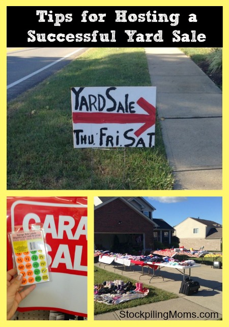 Tips for Hosting a Successful Yard Sale