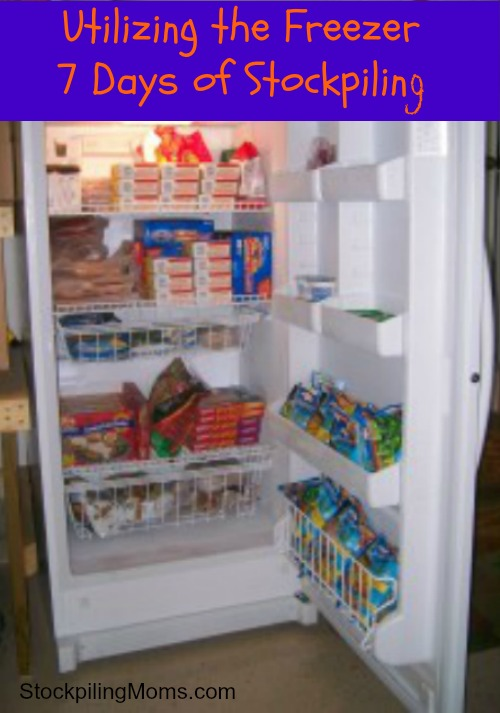Utilizing the Freezer - 7 Days of Stockpiling