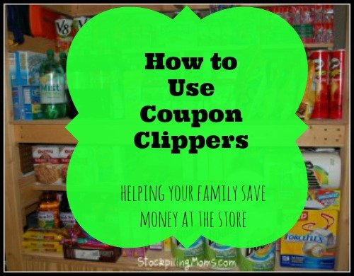 how to use coupon clippers