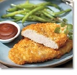 Quick and Crunchy Potato-Crusted Chicken