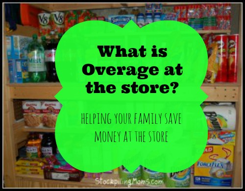 what is overage at the store