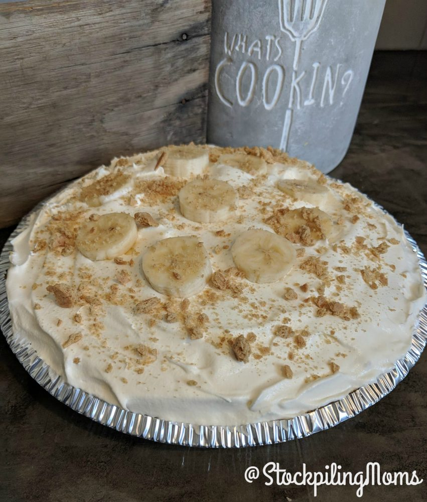 This easy banana cream pie is creamy and delicious. Better than banana pudding!