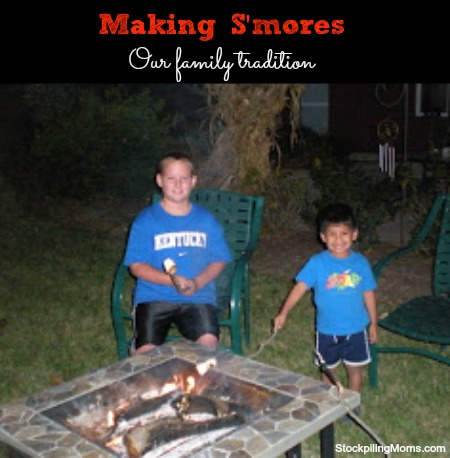 S'mores - Our Family Fun Activity