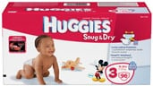 $3 off HUGGIES® Snug & Dry Diapers Coupon