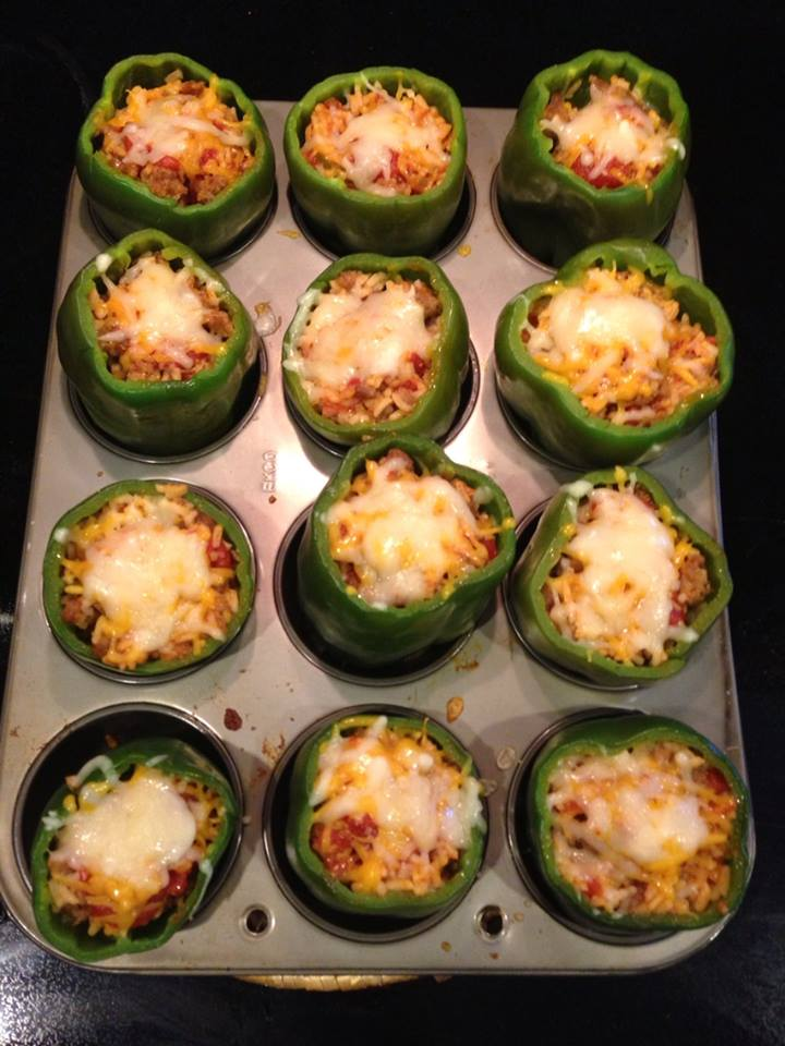Stuffed Green Peppers are easy to make and perfect for summer!