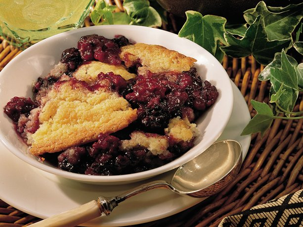 Blackberry Cobbler is one of my Dad's favorite recipes.  It tastes delicious. I like to serve it with vanilla ice-cream of course!
