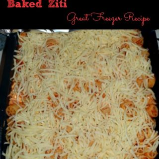 Freezer Cooking – Baked Ziti
