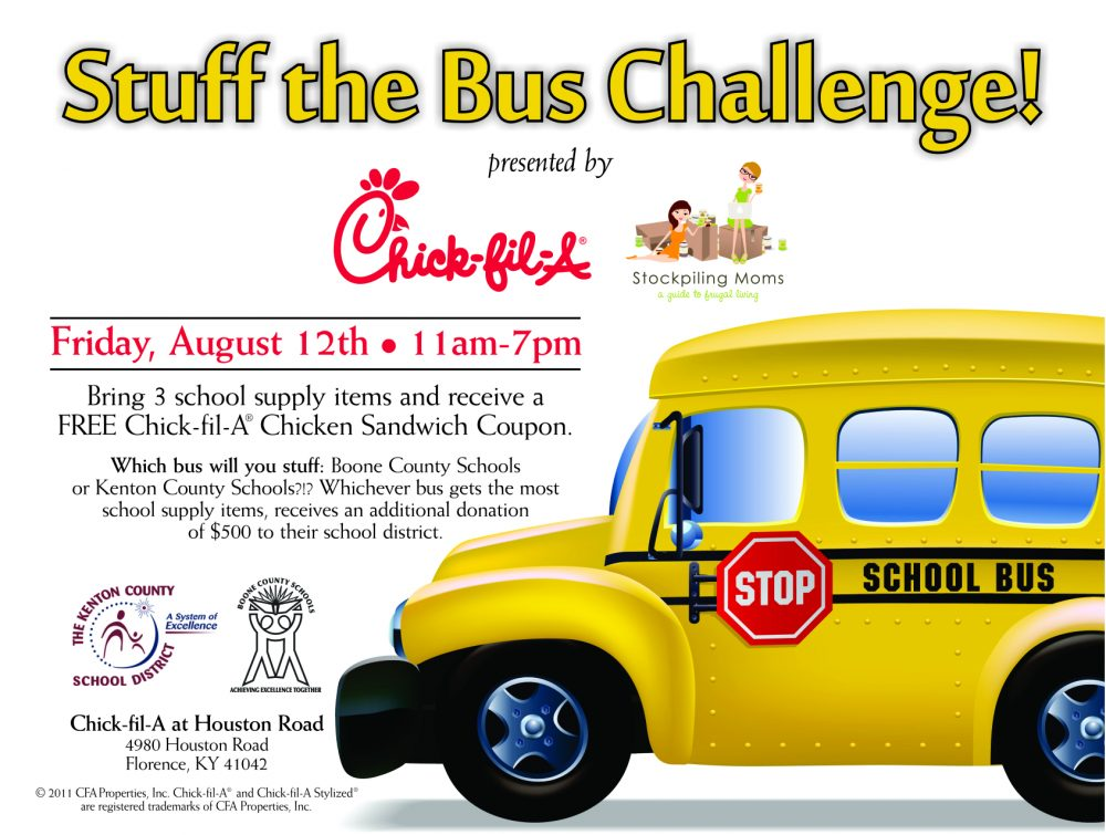 CFA Houston Road Stuff the Bus Bag Stuffer PRINT 7-28-11