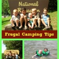 Frugal Camping Tips