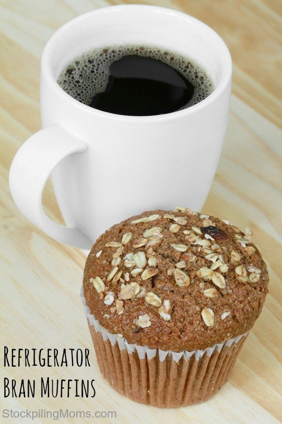 Refrigerator Bran Muffins are so easy to prepare and taste great!