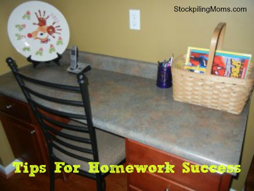 Tips for Homework Success