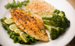 Herb and Lemon Butter Tilapia is perfect for Lent