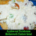 Applewood Farmhouse Restaurant Chicken Salad