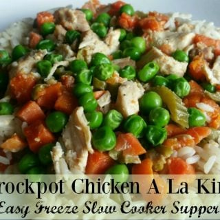 Crockpot Chicken A La King