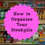 Organizing Your Stockpile