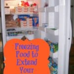 freezing to Extend Your Stockpile
