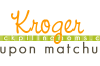 Kroger Grocery Store Deals & Coupon Matchup 10/29 – 11/04