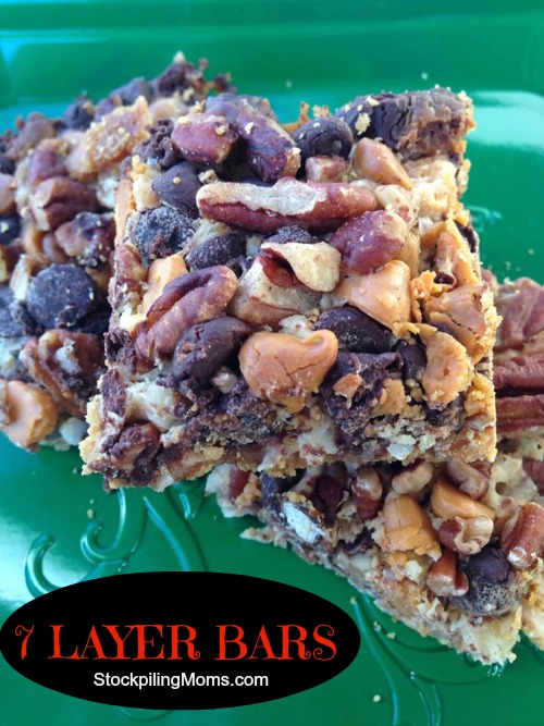 7 LAYER BARS Taste AMAZING!