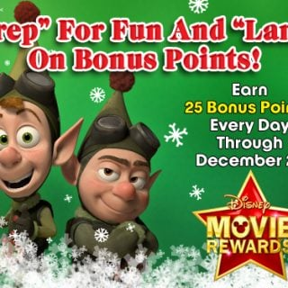 Disney Movie Rewards Members :: Earn 5 points daily this Holiday Season