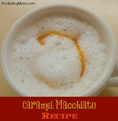 This Caramel Macchiato recipe is so easy to prepare and is perfect for autumn.