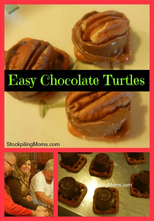 With only 3 ingredients in these Chocolate Turtles you will love how easy this recipe is to make!
