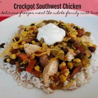 Crockpot Southwest Chicken